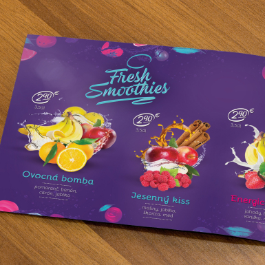 smoothies card
