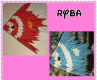 rybky ,,3d origami ""