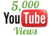 Ja pridám 5,000 High Retention Youtube views iba za