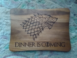 Doska na krajanie game of thrones 25x35