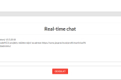 Real-time chat - Minify - PHP
