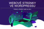 já udělám one-page web ve Wordpressu